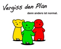 Logo Vergiss den Plan